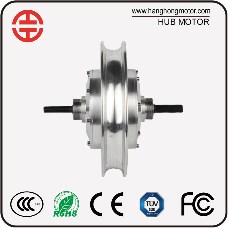 DC geared motor 24V brushless electric bicycle hub motor hot sale