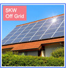 5KW complete off-grid solar power system, New energy off grid solar pv system