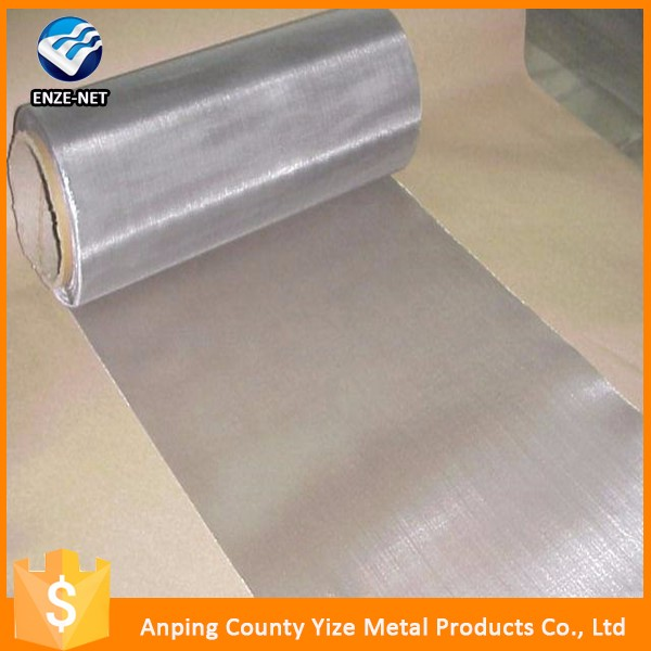New design woven ptfe coated stainless steel wire mesh