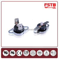 FSTB Temperature Differential Manual Control Heating Element Snap Action Bimetal Disc Thermostat Home Appliance Parts