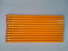 Fashion Yellow Wooden Black Lead Writing Pencil