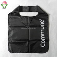 New Fashion cheap recycled custom foldable 190t 210d waterproof shopping tote polyester folding bag