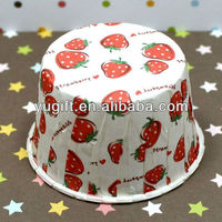 New Arrival! Disposable Wholesale High Quality Eco-friendly Strawberry Paper Baking, Nut, Portion, Snack, Dessert Cups