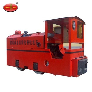 High Quality Trolley Mining Tunnel Diesel Locomotive For Sale/mine battery locomotive