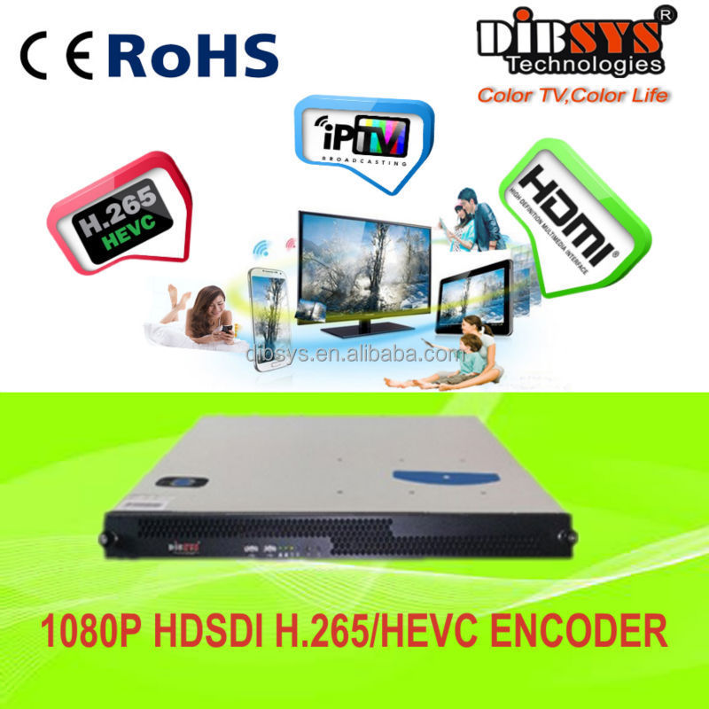 Unversial 1080p h.265 encoder hdmi/hd sdi over ip streaming
