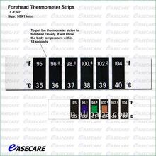 forehead thermometer strip with fever scan