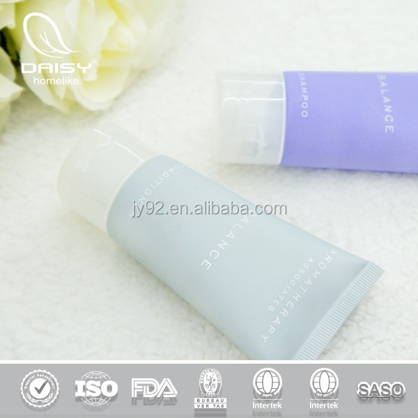 Hotel Bath Cleansing Products/Herbal Hotel Adult Shampoo Lotion/Disposable Plastic Hotel Tube Supply