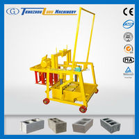 QMY2-45 small manual concrete block making machine,small compressed earth blocks,manual cement block molder