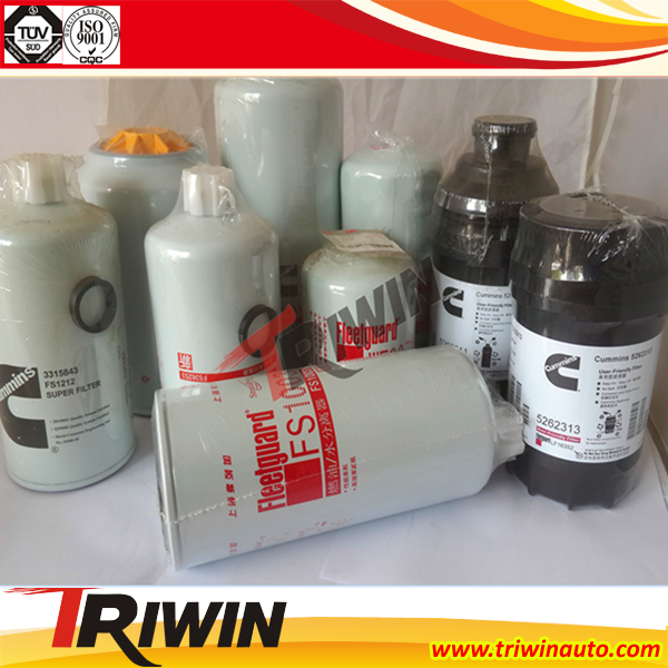 Low price diesel engine parts auto oil filter LF3536