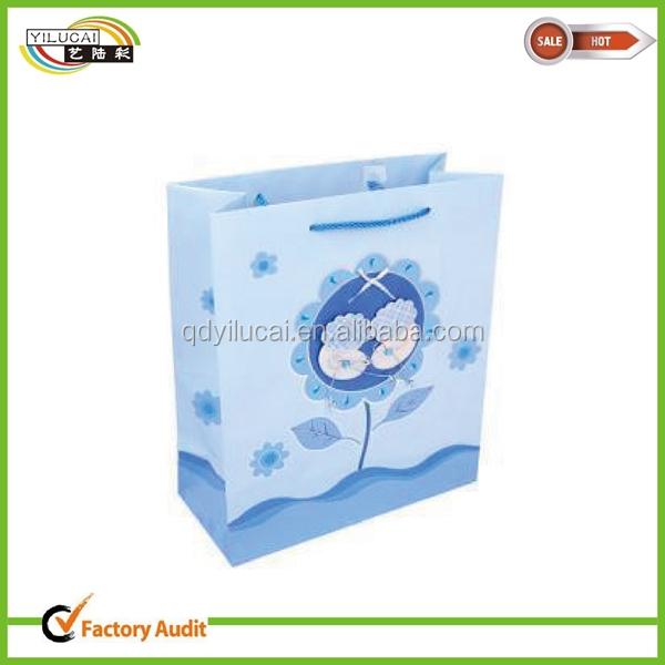Greetings Medium Birthday Gift Bags With Handles & Tissue Paper