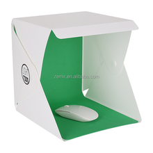 Different Sizes Mini Portable and Folding Photo Studio Light Box Tent with LED Strip and Backdrops