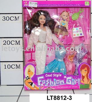plastic doll toy for children