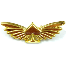 Cheap High Quality Decorative Souvenir Wings Die Cost Metal Enamel Pin Badges Craft