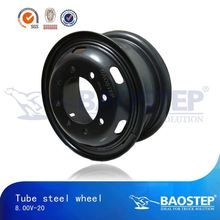 BAOSTEP quality assured latest 20 inch truck steel wheels