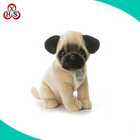 Black Pug Stuffed Animal In Cute Design