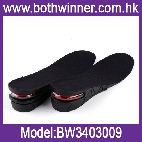 Men/women premium air cushion shoe lift (women) ,h0t130 shoe lifts , secret insole