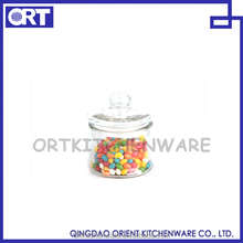 CANDY STORAGE JAR WITH GLASS LID