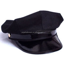 Octagon Yacht Captain Skipper Sailor Boat Police Sheriff Hat Cap Party Costume NH2367