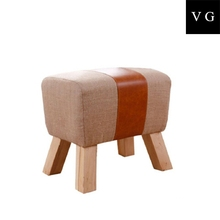 Australian Hot Sale Classic Style Wood bar stool,Fancy Stool Tray ottoman