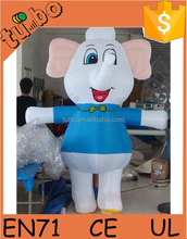 hot sale inflatable seven oh man mascot costume inflatable carton costume for inflatable advertising