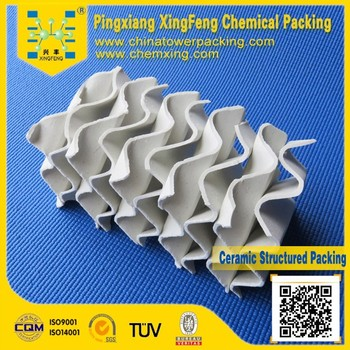 250,350,450 Ceramic Structured Packing