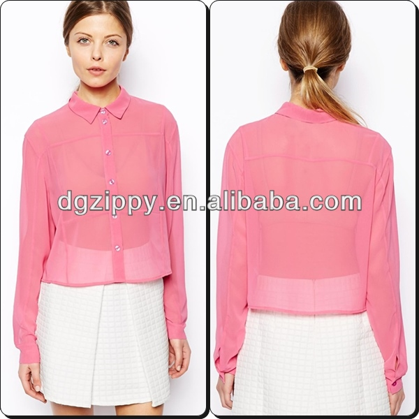 Wholesale woman clothing/ latest skirt and blouse 2014