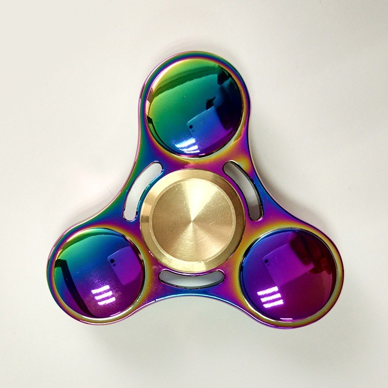 2017 best selling aluminium alloy bearing hand toy fidget spinner