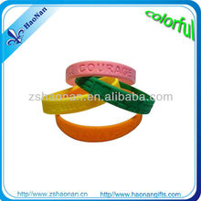 New promotional gifts for 2012 silicone wristband