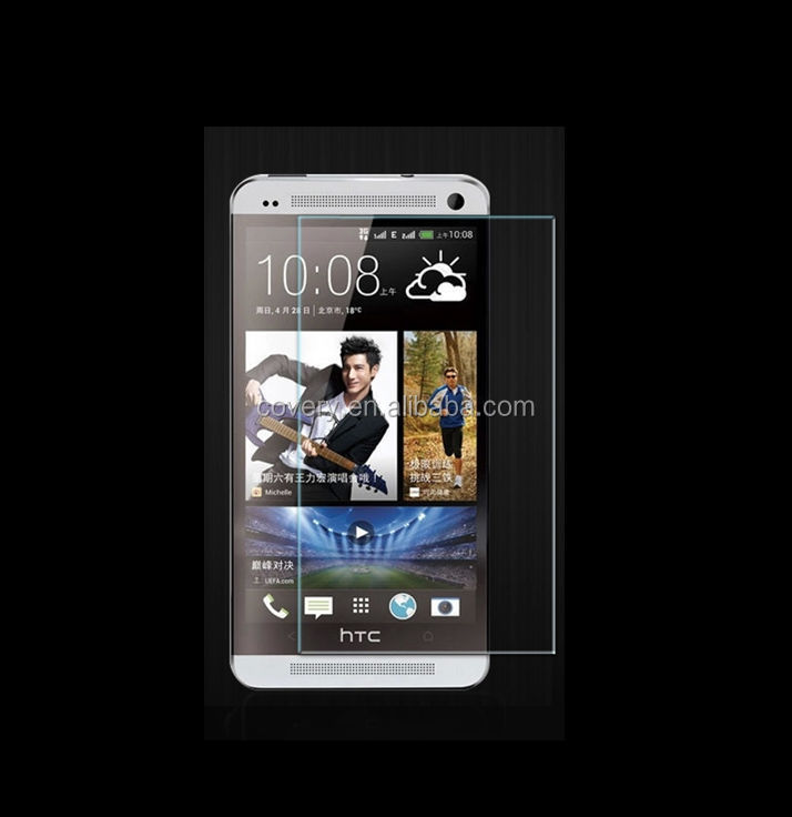 High Quality 0.33mm Ultra Thin Mobile Phone Tempered Glass Screen Guard for htc one max