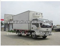 Freezer/refrigerated cooling box van