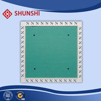 metal steel beaded frame with plasterboard inlay access panel trap door
