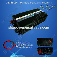 800W Pure Sine Wave Inverter Generator, 12V/24V/48V to 110V/120V/220V/230V Hybrid Wind Solar inverter