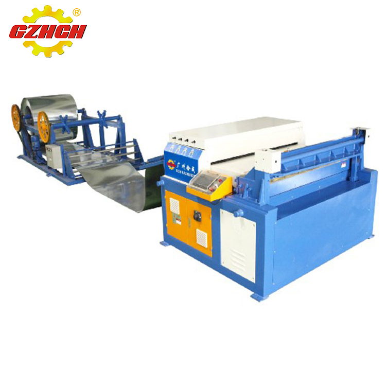 Economical and practical hvac air duct making machine / auto duct line I
