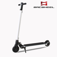 2 wheel standing hub motor mobility korea carbon fiber folding electric scooter 2017