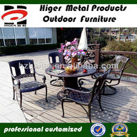 chinese manufacturer/ gazebo furniture/cafe table chair set