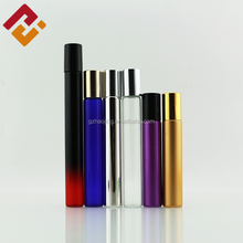 wholesale 4ml 5ml 10ml clear glass vial perfume tube roll on bottle