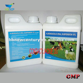 Albendazole oral Suspension 10% for animal use only