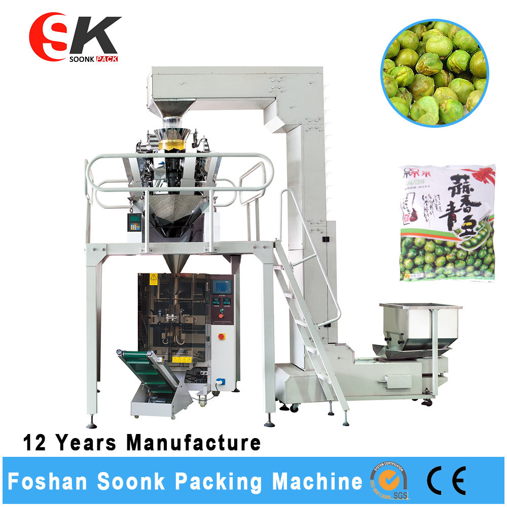 Multi-Lane organic fertilizer packing machine