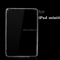 Soft Transparent Clear TPU Back Cover Tablet PC Silicon Case for iPad Air 2 for iPad 6
