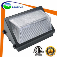 High quality LED exterior building lights/ 60W wall pack led lighting/ rooms wall bracket light fitting