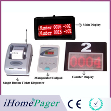 Hotel shop mall electric queue calling system service restaurant call display