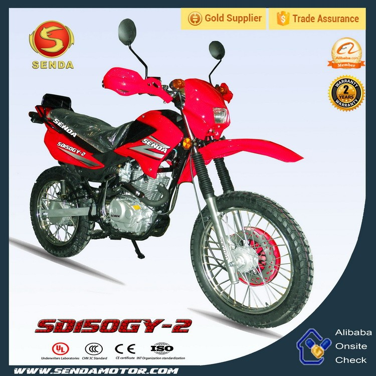 China Wholesale Water-cooled Engine 150cc Off-road Mini Bikes Hyperbiz SD150GY-2