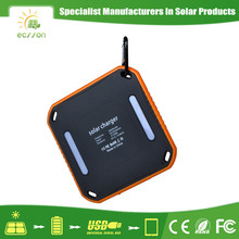 Multi-function waterproof solar power battery charger circuit with flashlight