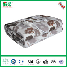 Single Fitted Multifunctional Fleece Electric Heating Blanket