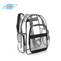 clear transparent pvc backpack wholesale
