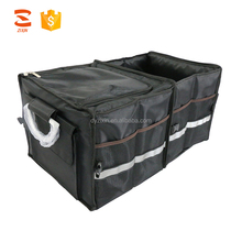 Multipurpose Foldable Storage Container Premium Car Trunk Organizer Cooler Bag