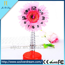 2014 China factory direct bedside cartoon decorative trendy alarm clocks