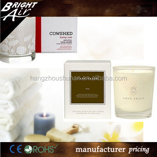 Hot sale scented soy wax candles