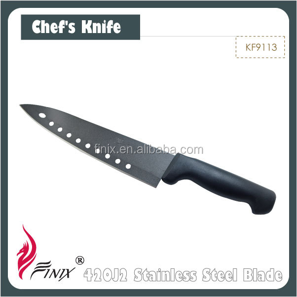 Japanese 420J2 Stainless Steel Non Stick Coating Magic Chef Knife