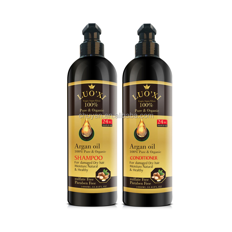 100ML OEM/ODM Natural Argan oil 100% pure & organic hair serum